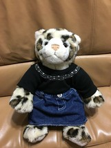 "Build A Bear 15"" Cheetah Leopard Plush WWF World Wildlife Foundation Col... - $21.82"
