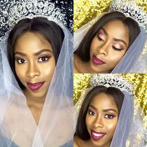 Bling Bridal Vintage Peacock Crystal Tiara Bridal  Wedding Hair Crown - $49.99