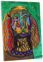 """Pingo World 0708QAU19NS """"Heather Galler Sussex Spaniel Dog"""" Gallery Wrap... - $53.41"""