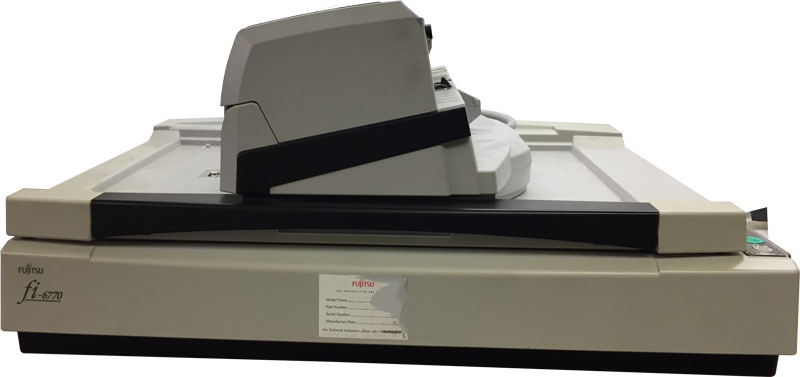 DISCOUNTED Fujitsu FI-6770 Flatbed Scanner and Automatic Document Feeder