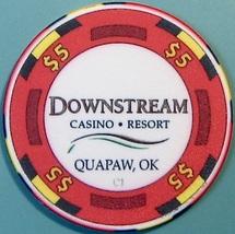 $5 Casino Chip. Downstream, Quapaw, OK. W36. - $6.50