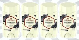 4 Old Spice Invisible Solid Antiperspirant & Deodorant Volcano w/ Charco... - $21.62