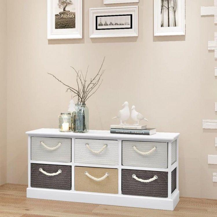 Bedroom Storage Bench With Drawers Bedroom Apartment Platform Bed Bedroom Ideas Bedroom Decorating Ideas Black And Grey: Storage Bench Wooden 6-Drawers Living Room Storage Bedroom