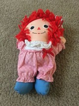 Vintage Baby Raggedy Ann Mini Girl Doll Raggedy Ann &  Andy Ages 1.5 And Up - $81.60