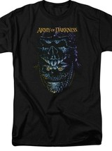 Army Of Darkness Supernatural Retro Horror 80's Evil Dead Graphic T-shirt MGM130 image 2