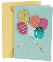 Hallmark Birthday Greeting Card For Her (Balloons) - $13.47