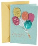 Hallmark Birthday Greeting Card For Her (Balloons) - $13.47