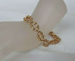 "Vintage Goldtone AVON 7.25"" Link Bracelet SIMPLE & PRETTY - $14.20"