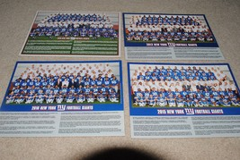 Nfl New York Giants Team 8 1/2 X 11 Team Photos -TAKE Your Pick Which Year! - $9.85