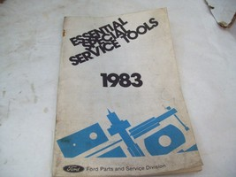 Original Ford Essential Special Service Tools Pamphlets 1983 F1B-83 - $6.92