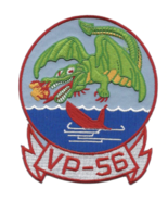 """5"""" NAVY VP-56 AVIATION PATROL SQUADRON EMBROIDERED PATCH - $18.04"""