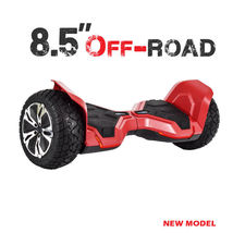 """Red 8.5"""" Off Road All Terrain Bluetooth Hoverboard Two Wheel Balance Scooter UL - $329.00"""
