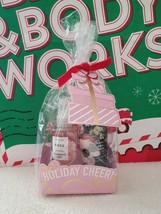 New Bath & Body Works Holiday Cheer! ROSE Travel Size 2 Pc Gift Set - $16.82
