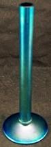 Antique Steuben Art Glass Bud Vase Blue Aurene Finish c 1920 Carder Era ... - $445.50