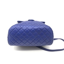 AUTHENTIC CHANEL ELECTRIC BLUE QUILTED LEATHER LARGE URBAN SPIRIT BACKPACK SHW image 8