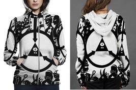 [Brand New For Women] The Satanic Zipper Hoodie - $48.99+