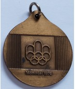 "1-1/4"" 1976 Montreal Summer Olmpics Bronze Medal - Swimming - $4.95"