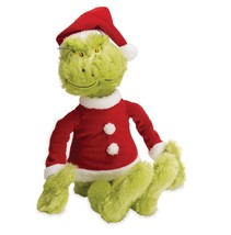 Dr. Seuss The Grinch Plush Doll Toy Soft Toy  Santa Claus Toddler Christ... - $39.99