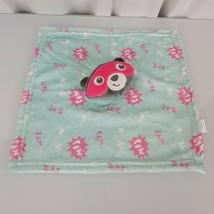 Fisher Price Gray Blue Pink Security Blanket Raccoon Superhero Bear Bam ... - $59.39