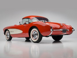 1957 Chevrolet Corvette C1 Fuel Injection POSTER | 24 x 36 INCH | muscle... - $18.99