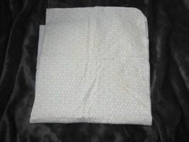 Cotton Flannel Baby Receiving Blanket Brown Tan Gray Aqua Star White Circo? - $24.74