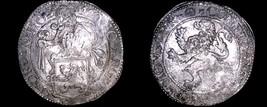 1589 Netherlands Holland 1 Lion Daalder World Silver Coin - $549.99
