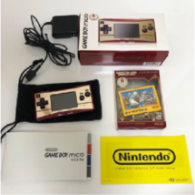 Nintendo Game Boy Micro Famicon 20th Anniversary Limited Edition Japan - $320.00