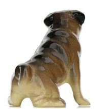 Hagen Renaker Dog Pug Mama Tan Ceramic Figurine image 6