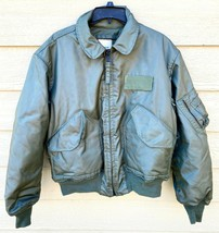 1993 USAF GREEN NOMEX FIRE RESISTANT COLD WEATHER FLYERS JACKET CWU-45/P... - $272.25