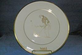 Lenox LPGA Angel Stanford Collector Plate 2004 Shoprite LPGA Classic Pro Am - $17.99