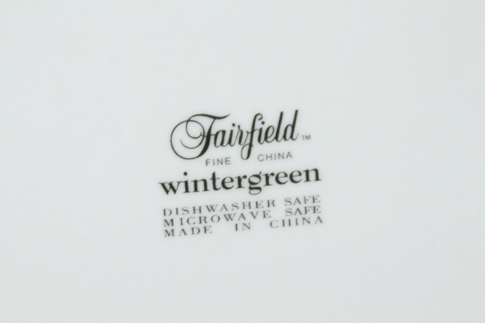 Fairfield Wintergreen Plates and Bowls Lot of 15  Christmas image 5