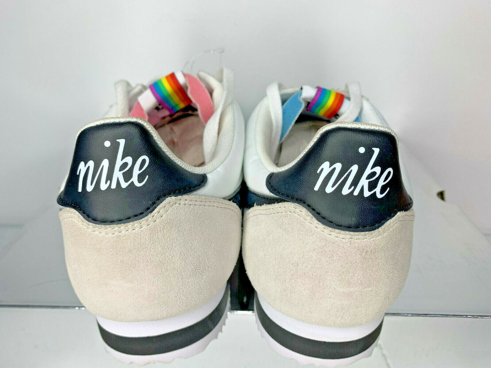 NEW SIZE 14 MEN Nike Classic Cortez BT QS Be True Gay Pride LGBT SNEAKERS SHOES