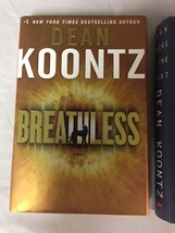 Lot of 3 Hardcover Novels by Dean R Koontz - Dark Rivers Breathless Even... - $9.99