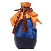 Panda Legends 16-oz Royal Blue Wine Jar Ceramic Empty Wine Bottle Chinese Small  - $21.14