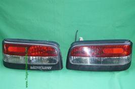 Mercury Capri XR2 XR-2 Taillights Tail Lights Lamp Set 94' image 9