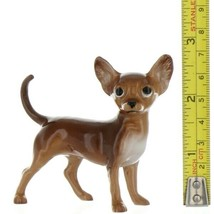 Hagen Renaker Pedigree Dog Chihuahua Large Brown and White Ceramic Figurine image 2