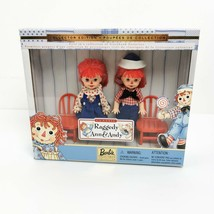 Raggedy Anne Andy Mattel Kelly Tommy 3 inch 1999 Barbie Friends Collectible - $24.99
