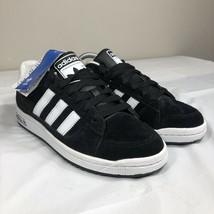 Adidas Low Sneakers Black White Suede Trefoil Originals Men's 7 2010 EQT... - $59.99