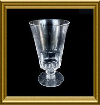 "Fostoria ""Dolly Madison"" Cut Crystal Ice Tea Goblet circa 1940s - $8.00"