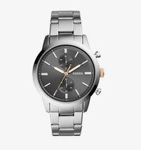 New Fossil Men's Townsman Chronograph Stainless Steel Watch Variety Color image 8