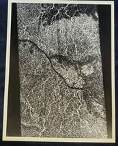 JPL NASA  Venus Lava Flow Magellan Photograph 1991! - $7.70