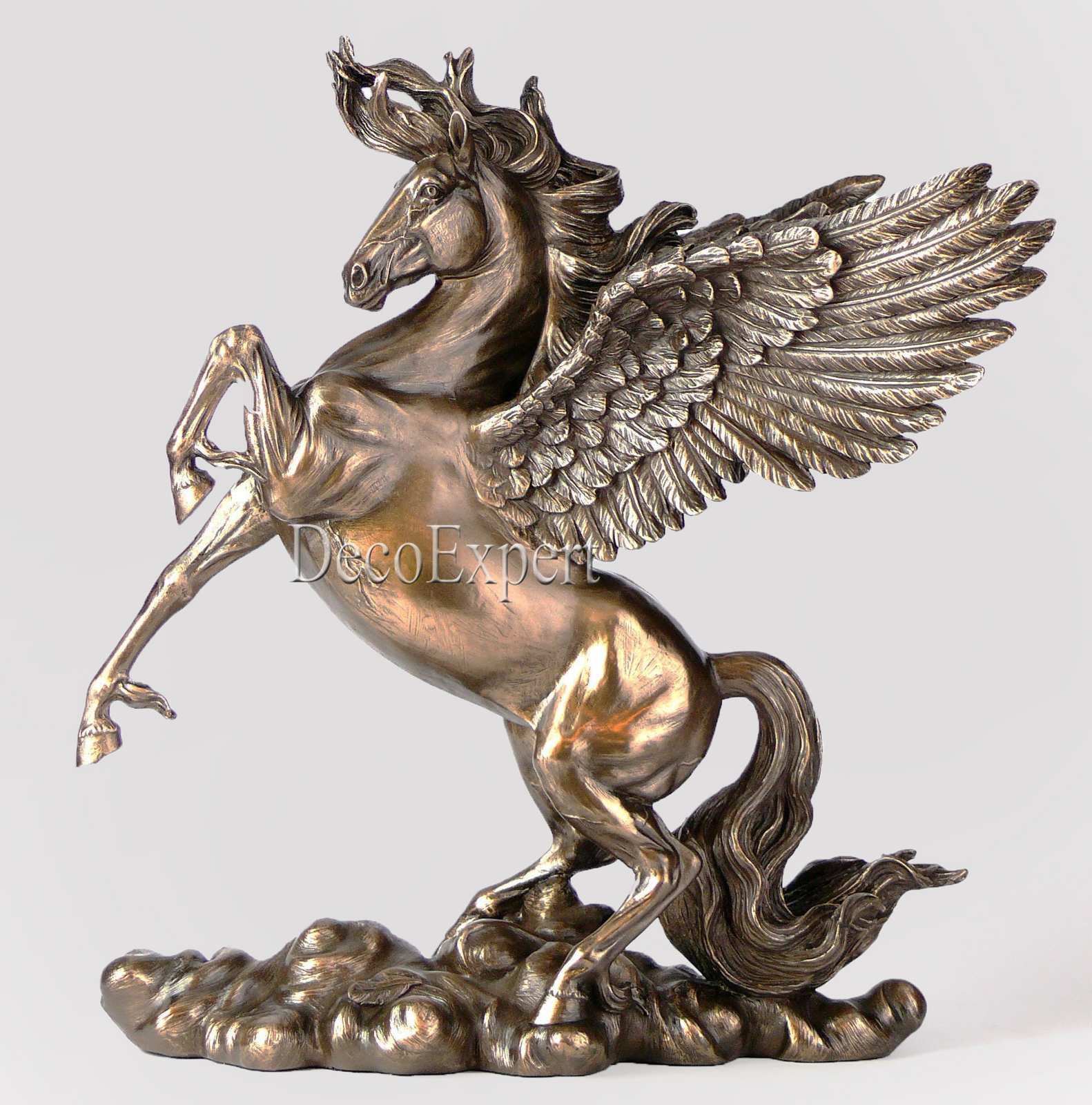 Horse Pegasus Winged Horse Large Sculpture Great * Free Shipping Everywhere