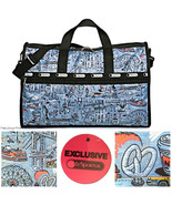 LeSportsac NYC The Boroughs Exclusive Large Weekender Cosmetic Bag Free ... - $110.88