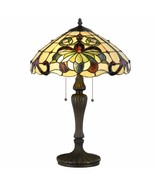 Tiffany Style Table Lamp Victorian Stained Glass Home Décor Desk Lamp - $109.99