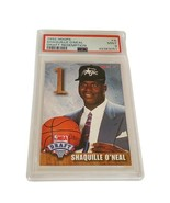Shaquille Oneal Shaq Rookie RC Laker PSA 9 Hoop 1992 A non auto draft re... - $4,950.00