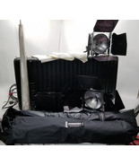 Lowel DP 3 Piece Light Kit With Many Accessories And Carry Case Bin: BR - $399.99