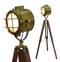 Cinema Studio Floor Prop Light With Tripod Lamp By NauticalMart - $157.41