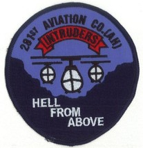 US Army 281st Aviation Company AH Helicopter Intruders Patch - $11.87
