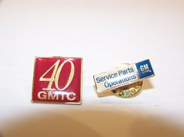 GM SERVICE PARTS & OPERATIONS & 40 GMTC HAT PINS - $17.99