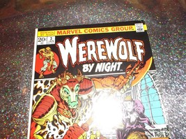 """Werewolf By Night # 3 * High Grade * Jan. 1973 * """"Mystery Of The Mad Monk!"""" Wow! - $50.00"""